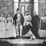 Stevenson Family with Servants