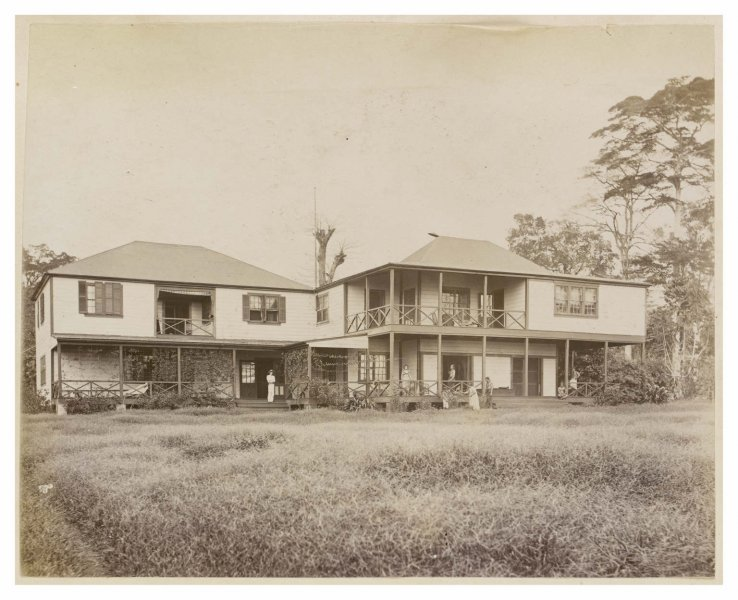 Vailima Front view