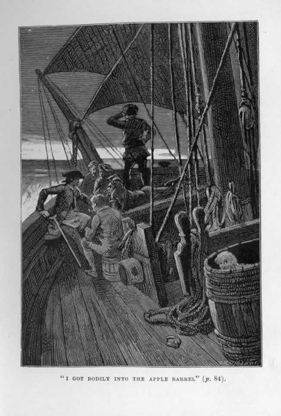 The First Illustrations For Treasure Island Robert Louis